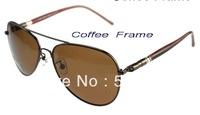 Lowest price Free shipping Wanbao glossy polarized sun glasses male women's sunglasses mb209 classic large sunglasses mb