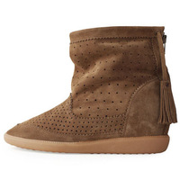 Fashion 2013 NEW Isabel Marant Basley Suede Tassel Bootie elevator casual cutout tassel boots four seasons boots SIZE 35-40