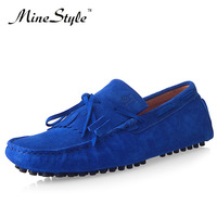 British style breathable single shoes nubuck leather shoes casual shoes male shoes gommini loafers shoes male shoes