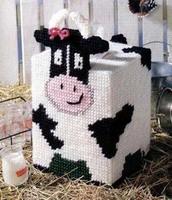 Three-dimensional three-dimensional embroidery cross stitch kit book tissue box a-001