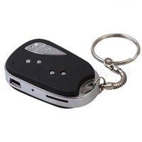 Hot 909 Car Key video Camera Mini DV Camcorder video recorder keychain Free Shipping