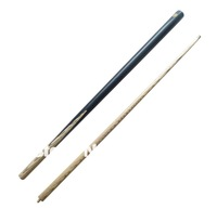 "Free Shipping 1PCS/LOT 18.5oz  Pool Table Snooker billiard 9-ball  Cue 2pc 9mm 57"" brass ferrule (ash) 1/2  001"