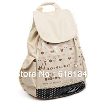 Free shipment new products for 2013 fashion cute girls backpacks waterproof Korean style PU leather backpack for middle school