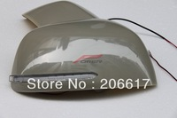 LED Car Mirror Cover For Suzuki SX4 2006 with Turn Signal LED Lights Made in Taiwan FREE SHIPPING