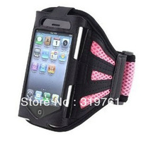 High quality  Sports Armbands Running Bike Cycling Gym Jogging Ridding Arm Band Case Cover for Iphone 5 5g  free shipping 30pcs