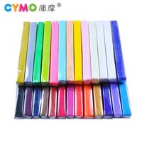 Child cymo handmade polymer clay eco-friendly color clay dry plasticine 26 mini set