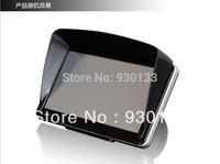"Free shipping GPS navIgation accessories 5"" ,5 inch GPS universal sunshade sunshine Sun shade GPS screen visor hood block"