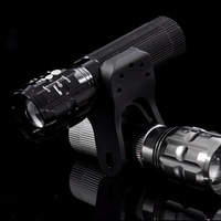 Retractable focusers torchy glare flashlight zoom focusers bicycle