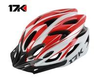 New arrival 17k bicycle helmet mountain bike ride helmet ride one piece male Women k04