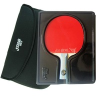 Free shipping DHS DOUBLE HAPPINESS SPORTS 6002 or 6006 TABLE TENNIS RACKET PING PONG PADDLE 6 STARS Long or SHORT HANDLE