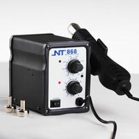 Genuine NT 868 hot air gun lead-free hot air desoldering station soft rotary wind hot air gun desoldering station