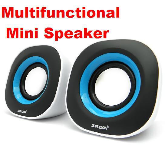Creative Multimedia USB mini speaker subwoofer for Notebook PC MP3 phone Game console Compact and practical free shipping(China (Mainland))