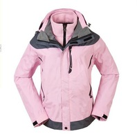 Ladies outdoor jackets , anti- rain Madam / casual jackets , fashion lady climbing jacket free shipping