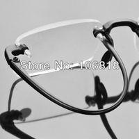 Men Women TR90 Bendable Frameless Rimless Presbyopic Reading Glasses Reader Eyewear Eyeglasses+2.50 With Delicate Carrying Case