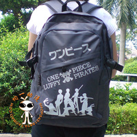 BEST SELLING! Japan anime ONE PIECE cartoon school bag Backpack rucksack  hiking bag for sale