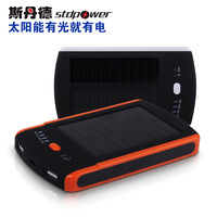 Mobile POWER Solar mobile power 6000 general travel charge treasure battery  Powerbank Freeshipping