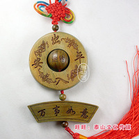 Natural green sandalwood car accessories lucky evil spirits