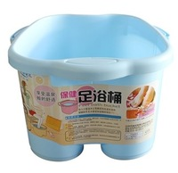 Plastic footbath bucket plastic foot bath bucket footbath bucket feet bucket foot massage function