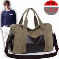 2013 vintage canvas bag large capacity travel luggage bag handbag shoulder bag messenger bag