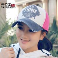 Parent-child hat female summer baseball cap lovers male women's sun-shading cap