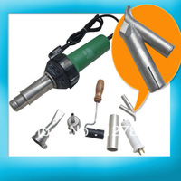 1500W Plastic Hot Air Torch Welding Gun Welder + 2x Nozzles +1x Heater Element + Some plastic rod Gift