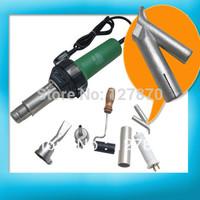 Welder + 2x Nozzles +1x Heater Element + Some plastic rod Gift 1500W Plastic Hot Air Torch Welding Gun