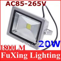 85-265V 20W 2000LM Waterproof Flash Landscape Lighting LED Flood Light Floodlight cold/warm white LED street Lamp Free Shipping