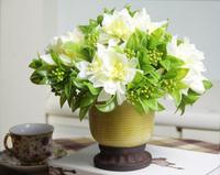 Peony dahlia passion-flower artificial flower silk flower