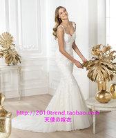 Free Shipping 2013 autumn bride wedding dress customize bridal bag fish tail 39