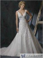 Free Shipping Wedding dress formal dress the bride wedding dress wedding dress