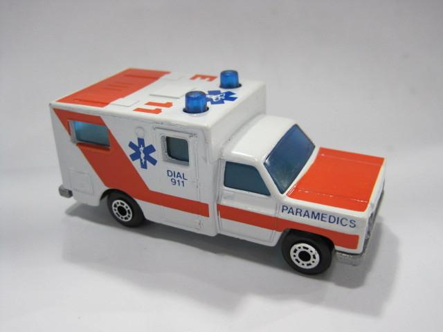 Ambulance Matchbox Car Matches Box Car Ambulance