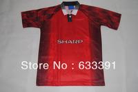 1996 season retro shirts  man u red home  jerseys  11#GIGGS