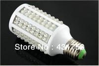 ( High brightness 2-year warranty )E27 166 LED 1250LM 12W Warm White Corn Light Bulb Lamp Spotlight AC 200V-240V  Free Shipping