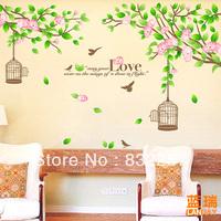 Furnishings wall sticker sofa background decoration wall sticker room decoration flower girl wall sticker family tree wall decal