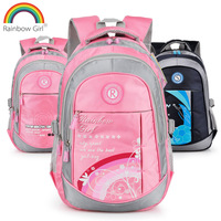 2013 Girl large capacity primary school students school bag backpack for kids double-shoulder school bag burdens free shipping