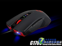 Novelty Computer usb wired laptop luminous gaming mouse 6d transmission