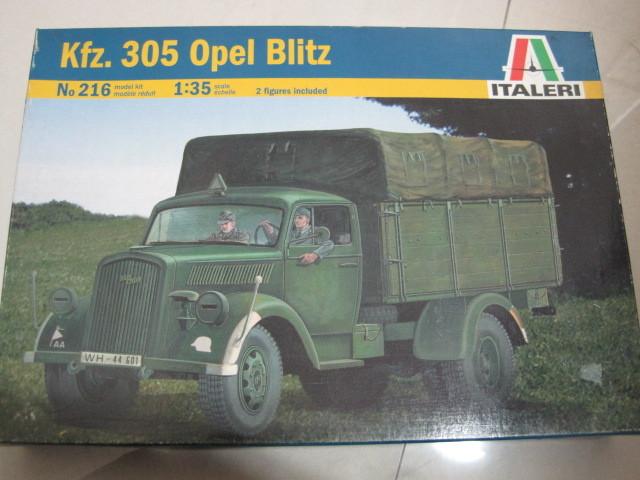 Italeri 00216 kfz . opel 305 truck assembling model(China (Mainland))