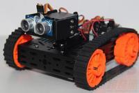 Dagu tanks tank exploer version aluminum robot