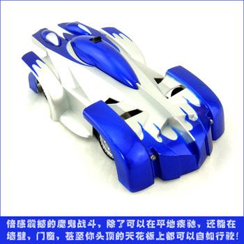 Toy car wireless remote control climbing car automobile race model electric remote control car blue
