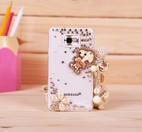 handmade case for For samsung galaxy SII 9100 mobile phone protective case rhinestone