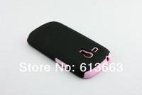 wholesale 100pcs/lot,hard+silicone case,PC+Silicone matte surface hard silicone case for Samsung Galaxy s3 mini i8910