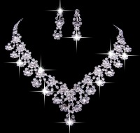 Accessories accessories crystal alloy chain sets married necklace the bride necklace hg035