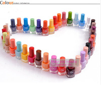 Free Shipping 12 Piece/Lot Candy Color 2013 Hot selling Nail Art nail Enamel 18 seconds quick dry