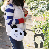2013 New anime White messenger bag women's handbag shirokuma cafe k1 polar bears