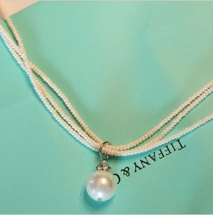 Temperament multilayer pearl chokers necklaces bridal fashion jewelry accessories wholesale gifts cheap promotion free shipping