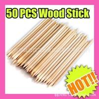 1000pcsX11.2cm Nail Art Orange Wood Stick Cuticle Pusher Remover