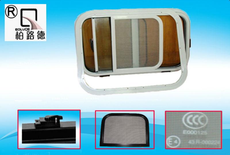 Stable and Exquisite aluminium RV Sliding window(China (Mainland))