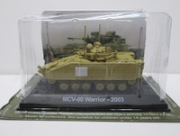 Amer 2 finished products tank model alloy mcv-80 3074