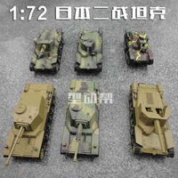 World war ii 2 tanks cannon model 6 finished products