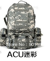 Wholesale -sale free shipping Multipurpose functional packages outdoor shoulder backbags Military Backpack